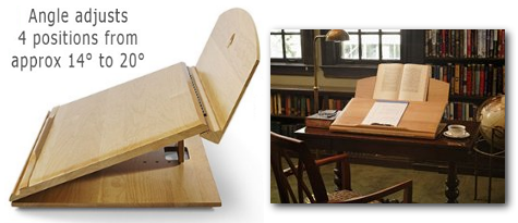 The Ergodesk The Ergonomic Writing Desk