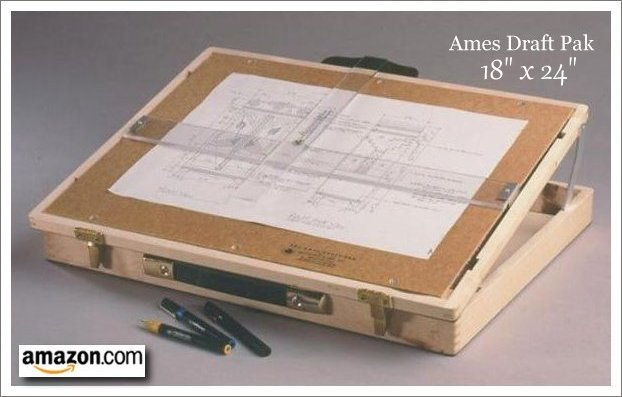 Table top drawing board plans